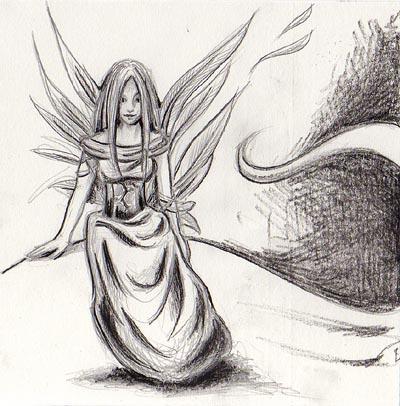 Bilder von engeln malen